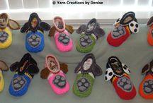 Crochet Child/Kid Paw Patrol Slippers