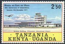 Tanzania Kenya Uganda Stamps