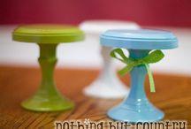 Bakery - Cake & Cupcake Stands / by Tonya Vila