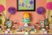 Dr. Seuss Birthday Party / by Lillian Hope Designs