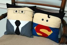 Lois's Superman Room / Girly Superman themed room for toddler / by Amanda Wan