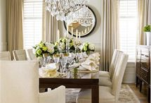 Dining Room Inspiration  / Dining rooms we love!