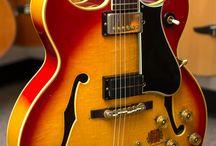 Barney Kessel Guitars / Gibson Barney Kessel semi acoustic guitars and their copies.