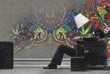 psychedelic and trippy ... / Really kewl walls that can boom your the crux of your soul to Nirvana