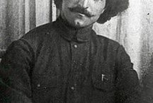 """Sergo"" Ordzhonikidze / Grigory Konstantinovich Ordzhonikidze  24 October  1886, Kutaisi Governorate – 18 February 1937, Moscow) was a Georgian Bolshevik, later member of the CPSU Politburo and close associate of Joseph Stalin. Ordzhonikidze, Stalin and Anastas Mikoyan comprised what was jokingly referred to as the ""Caucasian Clique."