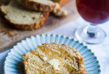 Savory Bread / bread, savory, herbs, spices, vegan, dairy free, vegetarian, appetizer, side, rolls