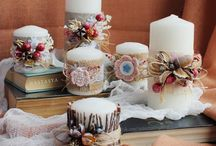 candele decorazioni