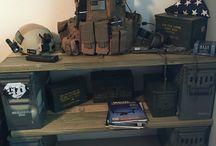 military room ideas