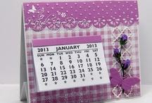 62 - diy calendar