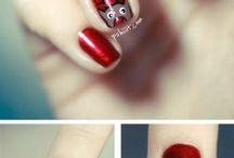 Ooh happy nails...
