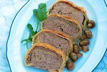 Ricette - Polpettoni carne o verdure + arrosti