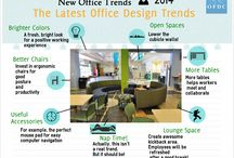 Office Design Infographics / #info #infographics About Office Designs and Office Updates