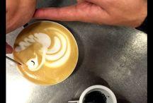 Backstage Latte Art School