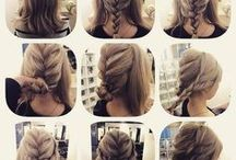 Hairstyles for shoulder-length hair