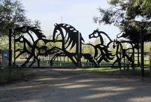 Portões em ferro