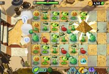 Plants vs Zombies 2 it's about time. / Unlocked pyramid of doom :)