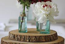 Natural Wood Wedding Decorations