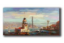 Yağlı Boya Tablolar / Yağlı boya tablolar ile mekanlarınıza fark katın!..