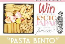 """Bento&co 2013 contest / For the 5th consecutive year, Bento&co presents its international bento contest, in which people from all over the world share their love of bento show off the beautiful bento boxes they make.  This year's contest theme is""""pasta bento""""!  Get every details on our website: http://en.bentoandco.com/pages/the-2013-international-bento-contest"""