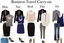 Капсула в деловую поездку / business trip capsule