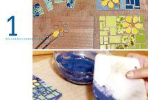 mozaiky- drobne predmety