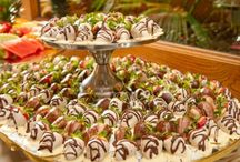 Wedding Food / Weddings offers a time to throw a party and food is a big part of that.
