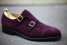 Double Monk Strap Men's Shoes