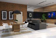 Projekty wnętrz prywatnych / Projekty wnętrz prywatnych - mieszkania, domy, apartamenty, lofty.