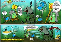 Tales of Cippannara / il webcomic di Cippi and Friends