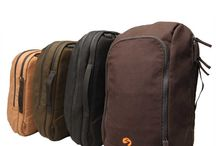 Backpacks and Bags / A collection of backpacks and bags