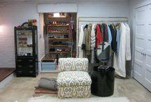 Basement Dressing Room