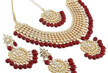 Awesome Bollywood Designer Inspired Polki Kundan Pearl Bridal Women Necklace Set
