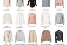Capsule wardrobe // Minimalism