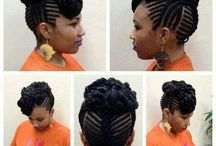 Natural Hairstyle for 4C Short Hair