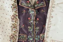 Embroidery 18th century