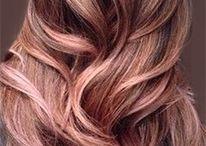 rose-gold-hair-trend-2015 / Nieuwe haarkleuren 2015