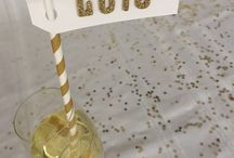 New Year's Eve / DIY, party ideas and recipes for New Year's Eve Celebrations
