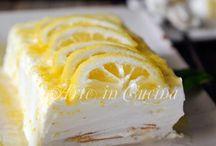 mattonella al limone con pavesini