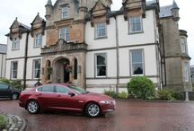 Luxury Hotels in Scotland / Little's cars delivering clients to the most luxurious hotels in Scotland