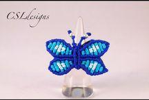 aros mariposa silvia