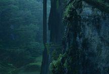 фантастические пейзажи