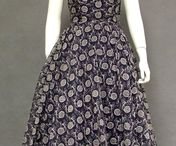 1950 Vintage Women Fashion / All the fashions that made the 1950's a time of beautiful style.