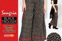 Women trousers and palazzos