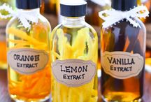 Vanilla extract gift / Also orange lemon mint!