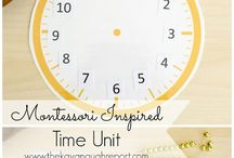 Montessori Uhrzeit