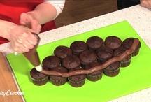 Cupcake cake shapes