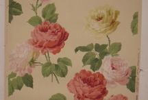vintage wallpaper & fabric