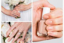 Wedding nails nude