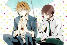 Shizuo - Kasuka - Heiwajima brothers - Durarara!!