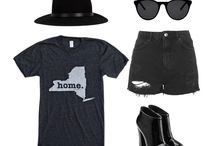 Outfit Layouts / The Home T is insanely soft, Made in the USA and we donate a portion of profit to multiple sclerosis research. This board features stylish outfits that we love.